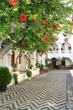 Panormitis monastery, Symi island Crete Island, Greece Islands, Amazing Places, Beautiful Places, Greece Pictures, Greek House, Heaven On Earth, Beautiful Islands, Art And Architecture