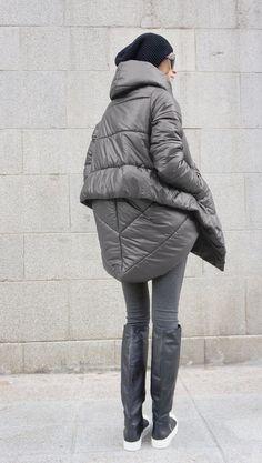 VENTE nouveau hiver Extra chaud asymétrique Extravagant