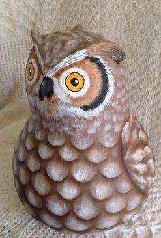 Gourd owl by Kim Gladfelter