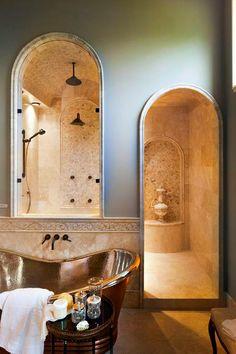 Bathroom Walkin Shower Design Ideas, Pictures, Remodel, and Decor - page 10 Home Interior, Bathroom Interior, Interior Design, Bathroom Ideas, Shower Ideas, Bathroom Vanities, Bathroom Colors, Bathroom Cabinets, Bath Ideas