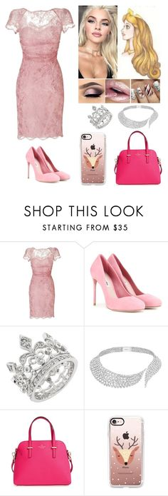 """""""Christmas: Aurora (Sleeping Beauty)"""" by annacastrolima ❤ liked on Polyvore featuring Emilio Pucci, Miu Miu, Messika, Kate Spade and Casetify"""