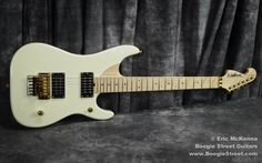 New Washburn Custom Shop Bright Cream and Gold Nuno Bettencourt N4 Guitar RARE | eBay