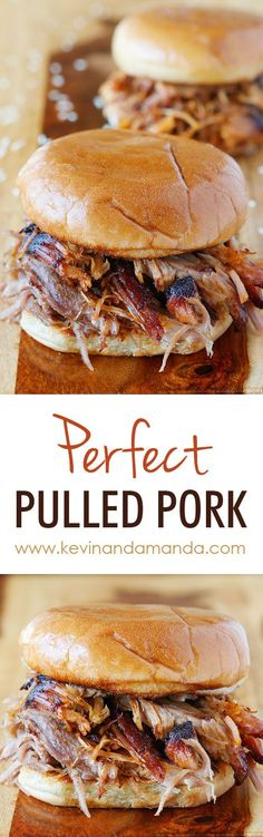 Magnificent How to make authentic Southern Pulled Pork. The post How to make authentic Southern Pulled Pork…. appeared first on Lully Recipes . Pulled Pork Oven, Perfect Pulled Pork, Pulled Pork Recipes, Meat Recipes, Slow Cooker Recipes, Crockpot Recipes, Cooking Recipes, Pull Pork, Recipies