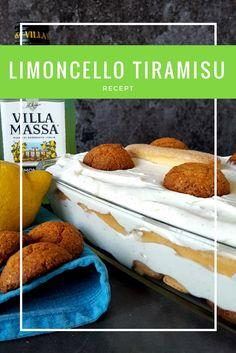 Limoncello tiramisu - een zomers nagerecht