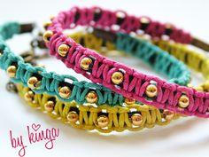 DIY bracelet / Csináld magad karkötő