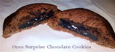 Oreo Surprise Chocolate Cookies