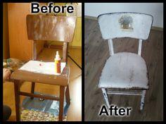 prerobenie starej stoličky :)