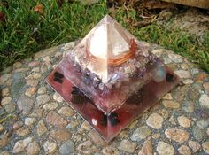 Transformational Orgone Energy Pyramid Large by TwoChez on Etsy, $65.00