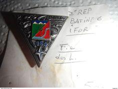 Insigne 2° REP / BATINF 6/IFOR/ LEGION ETRANGERE - Armée De Terre