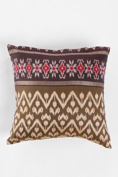Magical Thinking Silk Sari Pillow  #UrbanOutfitters