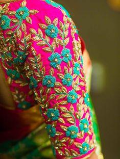 35 Stunning Latest Maggam Work Blouse Designs 2020 Work on the latest mill designs blouses stunning silk saris kanjivaram 2020 Fur Bridal, Wedding blauss, silk saree blouse designs 2020 Cutwork Blouse Designs, Wedding Saree Blouse Designs, Pattu Saree Blouse Designs, Embroidery Neck Designs, Fancy Blouse Designs, Blouse Neck Designs, Wedding Blouses, Wedding Sarees, Zardosi Work Blouse