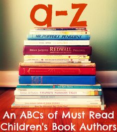 ABCs of Must Read Children's Book Authors from Carrots for Michaelmas