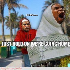 LeBron James and Chris Bosh! - http://weheartnyknicks.com/nba-funny-meme/lebron-james-and-chris-bosh