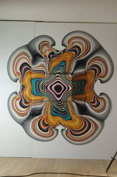You'll Flip When You See This Artist Create A Masterpiece Without Touching The Canvas - Dose - Your Daily Dose of Amazing