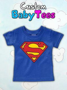NEW  Toddler Superman TShirt by MelaPelaClothing on Etsy