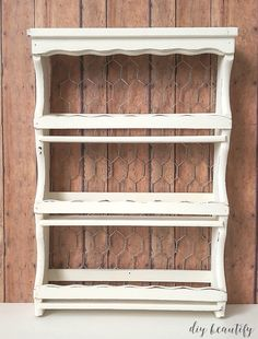 Vintage Spice Rack For Beautiful Button Storage Home