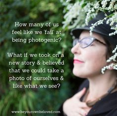 How many of us feel like we are failing at being photogenic? And how does that affect our experience of taking selfies when we begin with that story?   I'm exploring these thoughts on the blog today, totally inspired by the recent talk Kim Werker did at the recent CreativeMornings Vancouver! #beyourownbeloved
