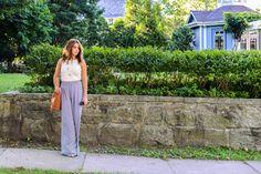 Wide leg trousers make for fun Spring fashion