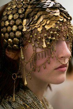 gold adornment / #MIZUstyle