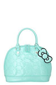 Loungefly - Hello Kitty Mint Patent Embossed Bag | Loungefly