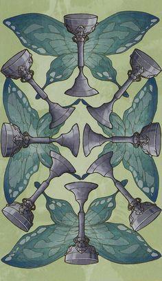 8 of Cups - Universal Wirth Tarot