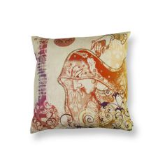 LADY WITH A SITAR CUSHION COVER  Buy Here -http://madinindia.in/collections/cushion-covers/products/lady-with-a-sitar-cushion-cover MRP - Rs 1200