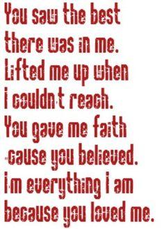 Celine Dion - Because You Loved Me - song lyrics, song quotes, music lyrics, music quotes, songs