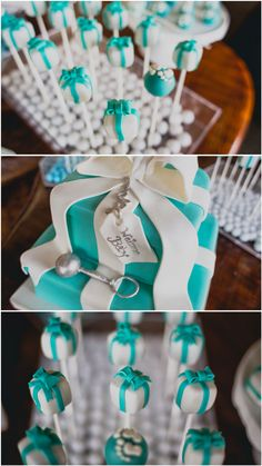 [Baby Shower] Tiffany Baby & Co Themed Shower