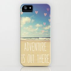 adventure is out there iPhone Case by Sylvia Cook Photography - $35.00