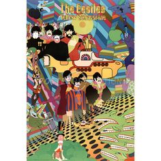 seeing Yellow submarine at the local theatre with my brother Matt. Peter Maxx was the first artist he was influenced by. Miss you Matt...