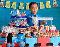 "Thomas the Train party / Birthday ""Thomas Train Birthday Party""   Catch My Party"