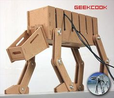 DIY AT-AT Cable Management System   Ubergizmo