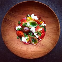 tomato - basil - feta - cheese - onion | chef_ richard karlsson.
