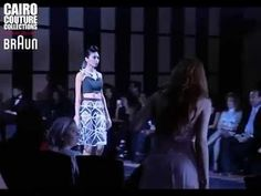 TIFFANY RAE FASHION ZONE CAIRO COUTURE COLLECTIONS SS 2015 COLLECTIONS