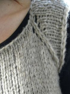 Ravelry: Rosa's Sleeveless Cardi -Jumper by Emma Fassio