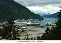 Free Photos of Alaska | Cruise Ships Docked In Skagway, Alaska Stock Photo 432310 ...