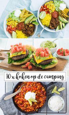 10 x koken op de camping
