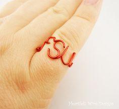 Florida State University Ring - Red
