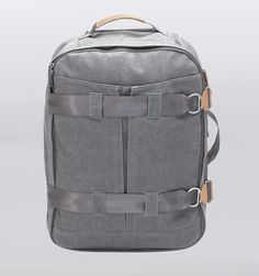 Qwstion 3 Day Rolling Travel Bag - Washed Grey - Rushfaster.com.au