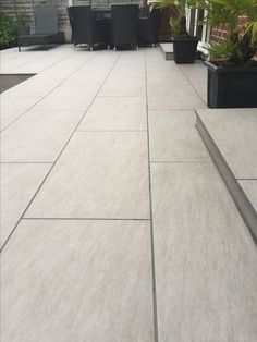 Outdoor porcelain tiles - All About Garden Slabs, Garden Tiles, Patio Slabs, Patio Tiles, Garden Paving, Outdoor Flooring, Back Garden Design, Backyard Garden Design, Patio Design