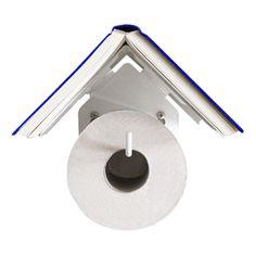 Bird House Book Rest Toilet Roll Holder
