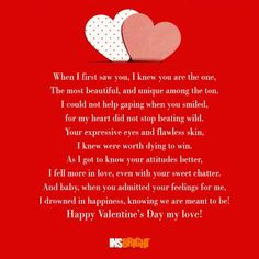 Happy Valentineu0027s Day Poems With Images