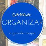 Organizando armários triagem