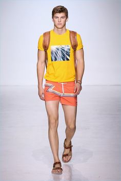 Parke & Ronen delivers a spring-summer 2018 collection inspired by the outdoors. Designers Parke Lutter and Ronen Jehezkel reference John Denver's song