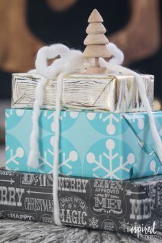 12 Creative Wrapping Ideas - Christmas Gift Wrapping