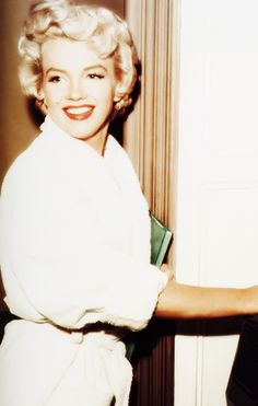 Marilyn Monroe photographed on the set of The Seven Year Itch, released 1955