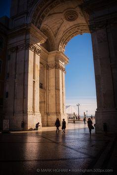 Praça do Comércio. Lisbon, Portugal