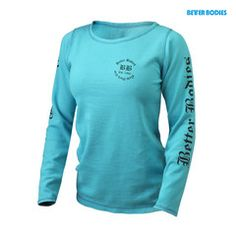 Better Bodies Women's Thermal aqua blue