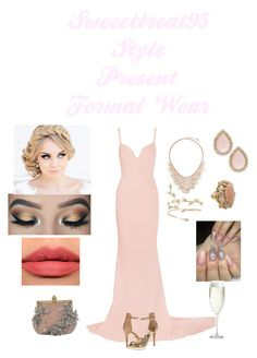"""""""Formal Wear"""" by sweeettreat95 on Polyvore featuring STELLA McCARTNEY, Kate Spade, BERRICLE, Michael Kors, Kat Von D, Crate and Barrel and Valentino"""