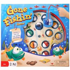 Gone Fishin' Game - Modern version of the classic fun family fishing game! | eBay